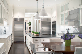 Peter Pennoyer French Modern Townhouse Kitchen
