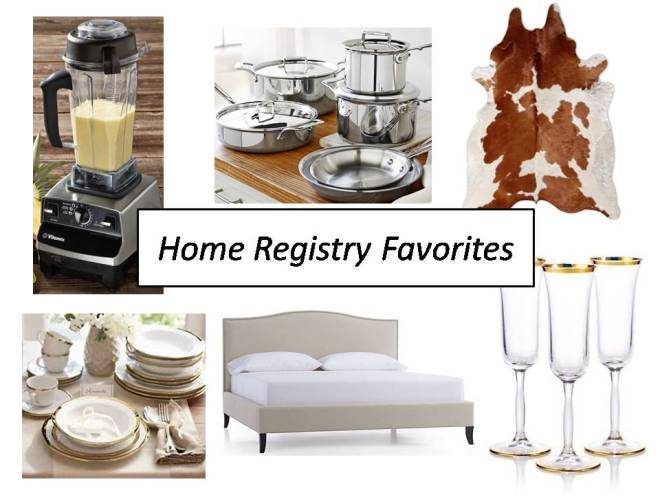 Home Registry Favorites