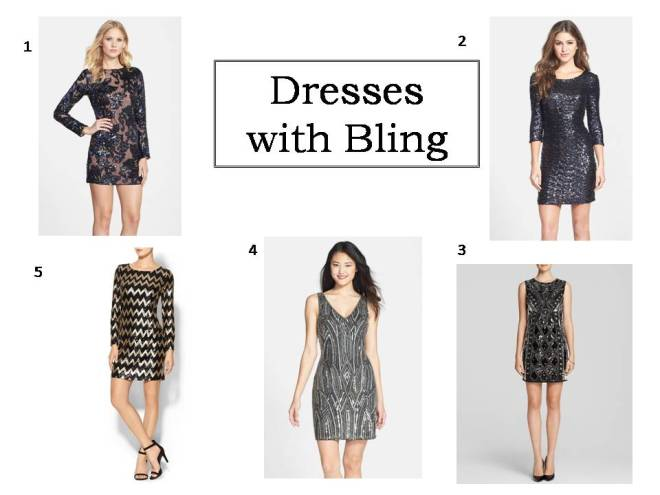 Dresses with Bling