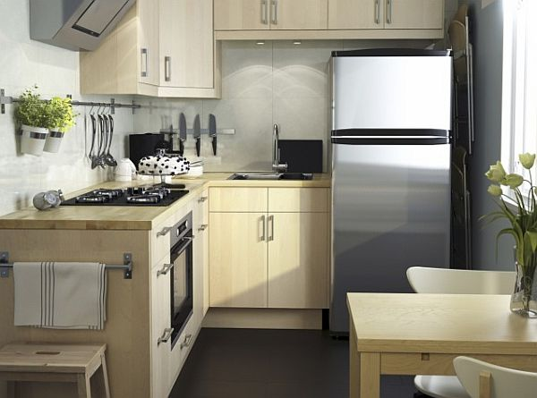 L-shaped-small-kitchen-from-IKEA