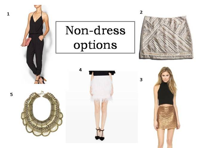Non-dress options
