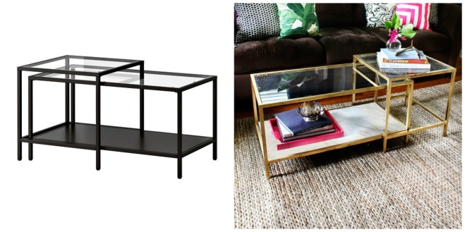 PicMonkey Collage coffee table