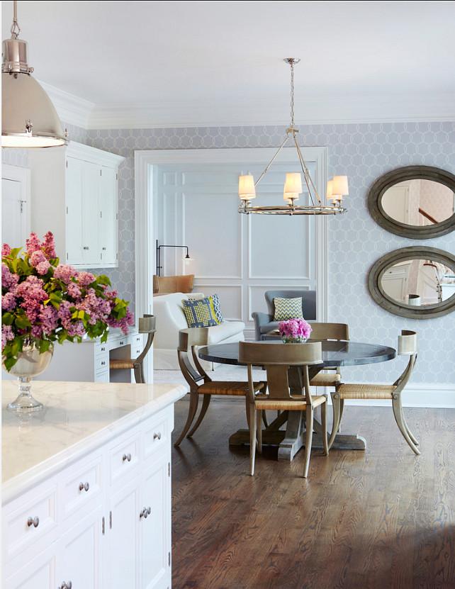 Kitchen-Lighting-Ideas.-Pendant-Ligthing-above-island-are-by-Ralph-Lauren.-Chandelier-lighting-above-table-is-from-Circa-Lighting.-Kitchen-Lighting