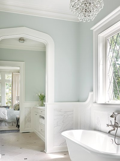 Buckhead tudor home southendstyle for Tudor bathroom design