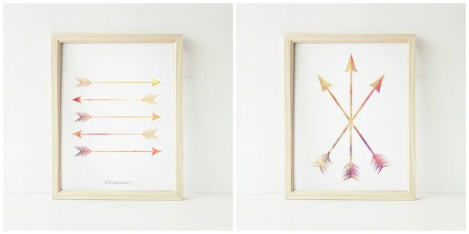 arrow prints