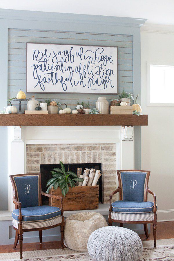 Fireplace Fillers. – SouthEndStyle