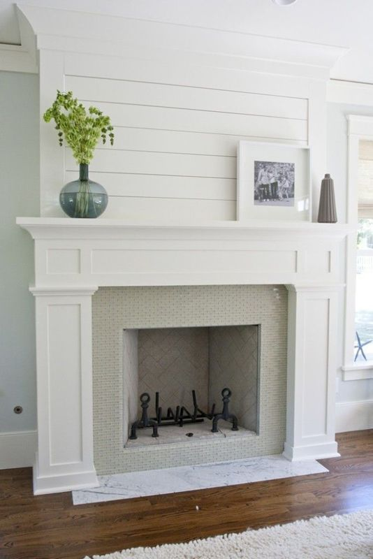 Shiplap Fireplace Southendstyle