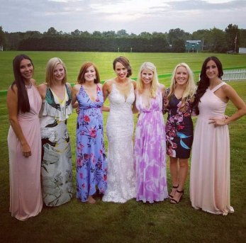 LHS Girls wedding