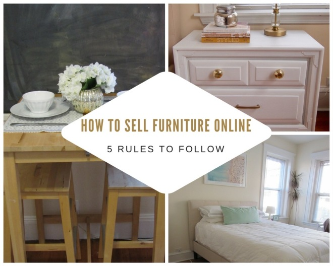 How to Successfully Sell Furniture Online
